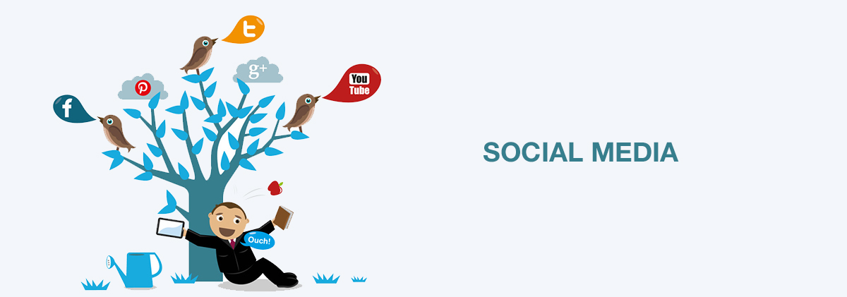 Be active in social networks